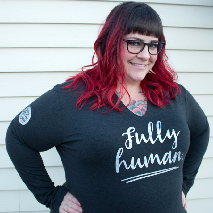 Fully Human Hoodie (avail. in S, 3X, 4X)