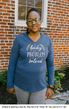 My Body Is Not A Problem To Be Solved Hoodie