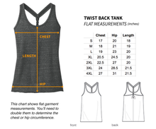 My Body Is Not A Problem To Be Solved Twist-Back Tank