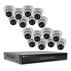 Alibi Commercial Grade HD-TVI 3MP 16CH 2TB Hybrid+ DVR Package w/ 16 Cameras