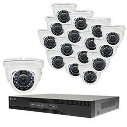 Alibi Commercial Grade HD-TVI 2MP 16CH 2TB Hybrid+ DVR Package w/ 16 Cameras