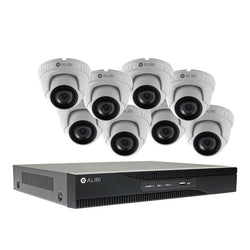 Alibi Commercial Grade HD-TVI 3MP 8CH 1TB Hybrid+ DVR Package w/ 8 Cameras