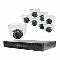 Alibi Commercial Grade HD-TVI 2MP 8CH 2TB Hybrid+ DVR Package w/ 8 Cameras