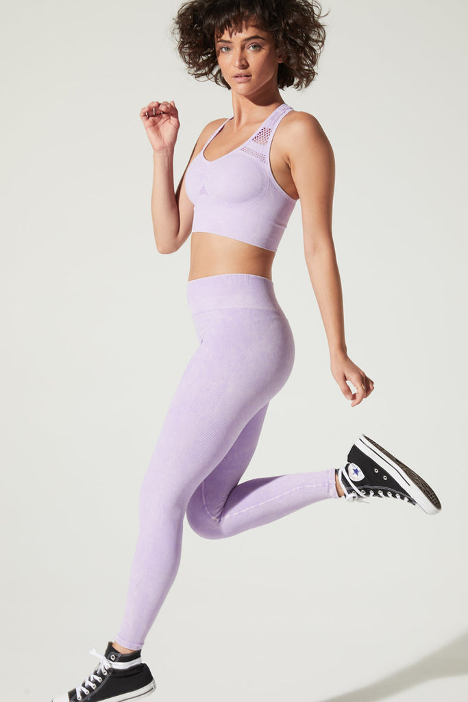 Earth Legging in Amethyst