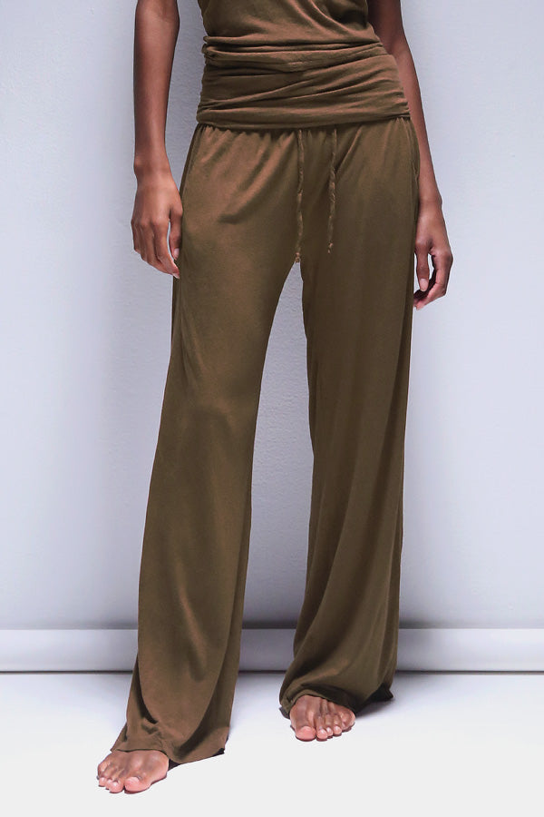Bodi Lounge Pant in Pine Bark