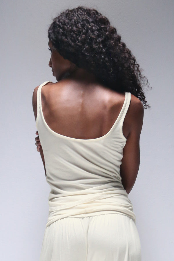 Bodi Lounge Tank in Natural
