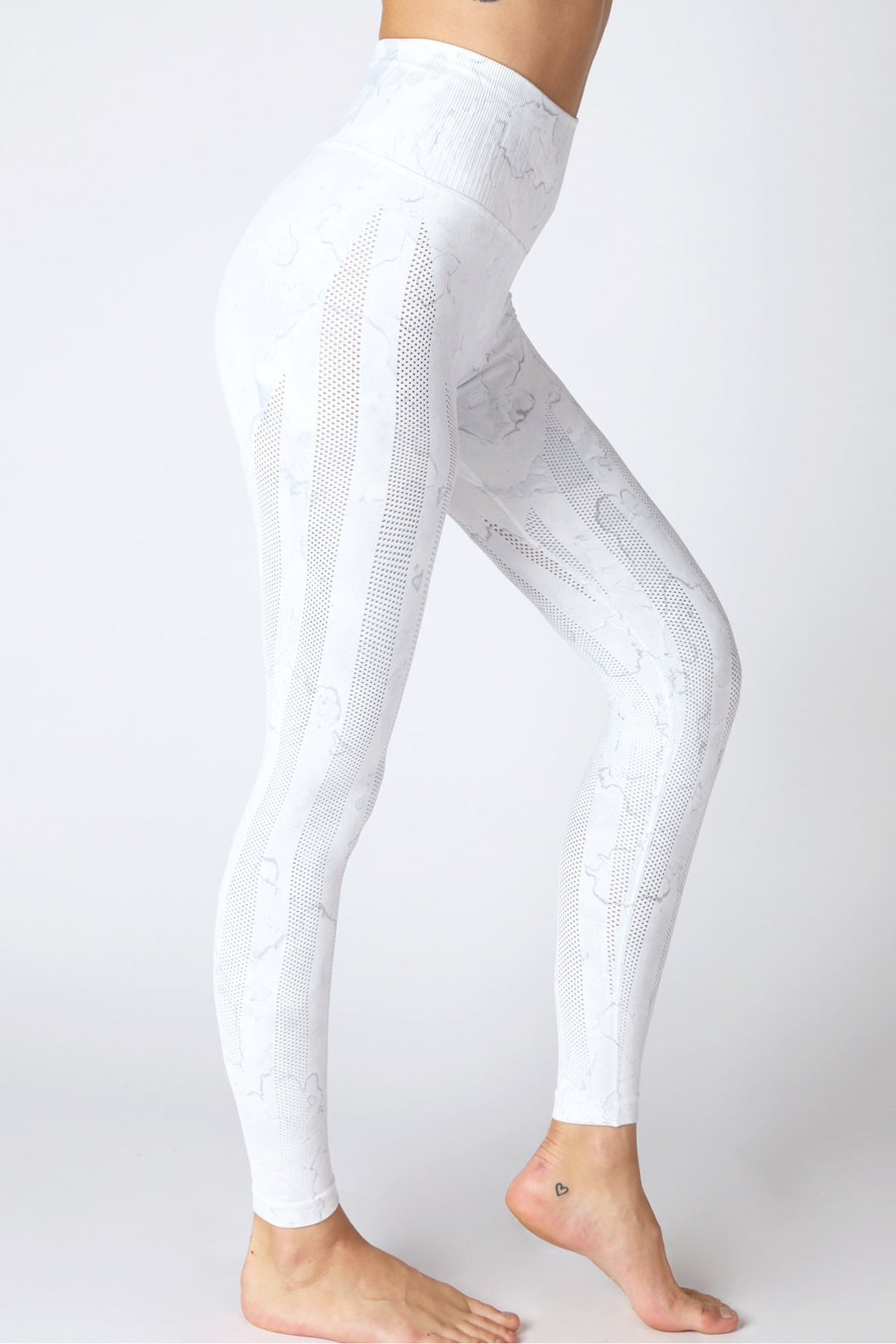 Breezy Legging Splash Series in Cool Grey/Bubble Splash