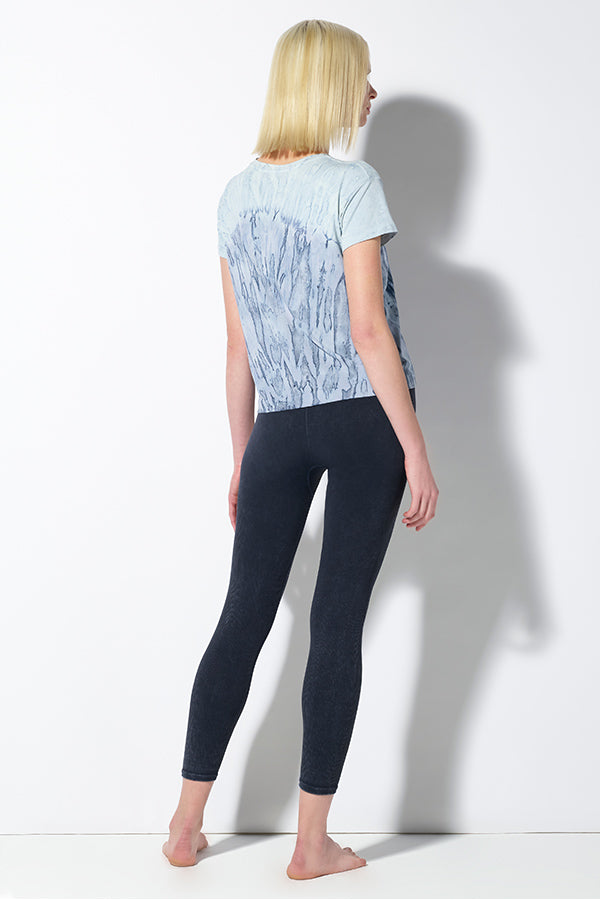 Crystal Favorite Tee in Blue Agate Wash