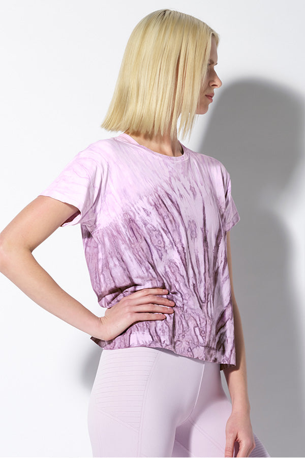 Crystal Favorite Tee in Purple Agate Wash