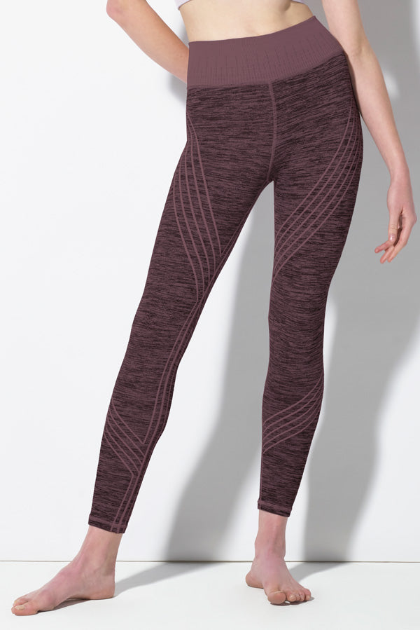 Danielle Striped Legging in Huckleberry