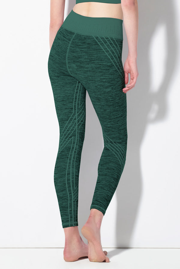 Danielle Striped Legging in Jasper