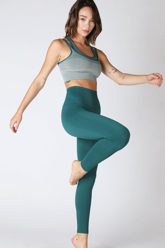 Air Legging in Deep Teal