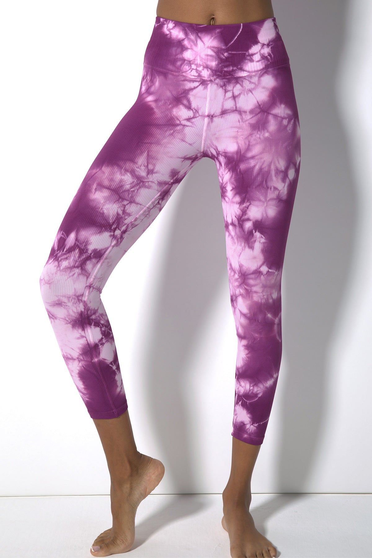 Haze Renee 7/8 Rib Legging in Desert Rose Haze