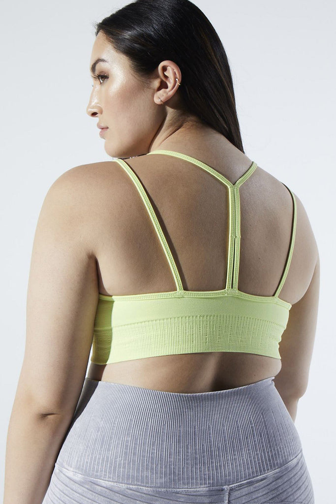 Fire Bra in Luminary Green