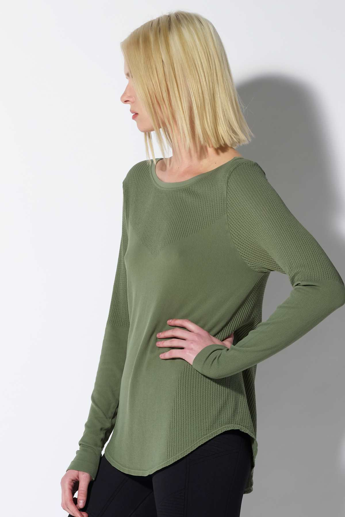 Jess Cover Up in Agave Green