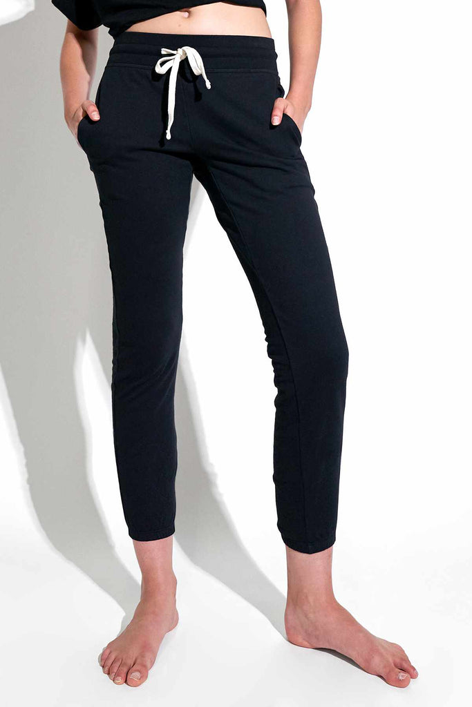Kacey Classic Sweatpant in Black