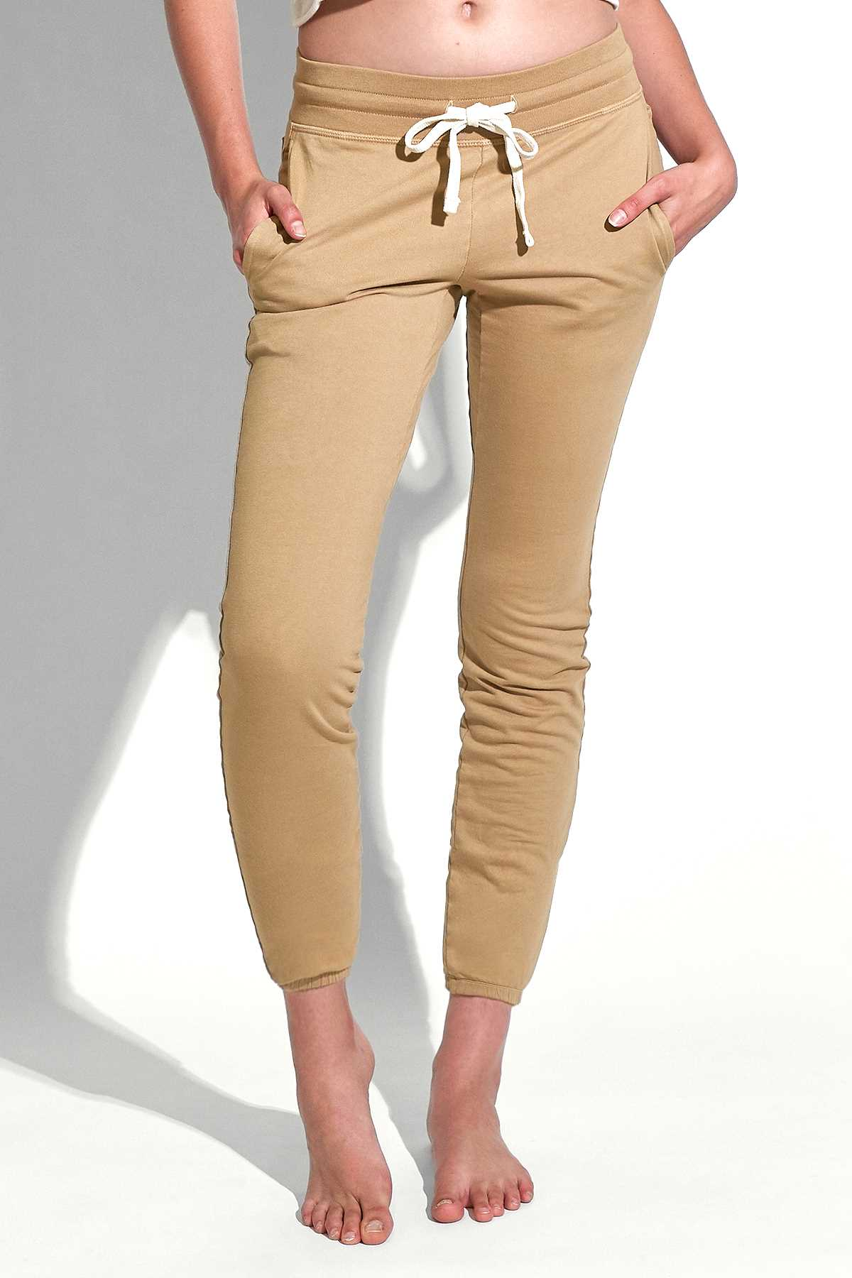 Kacey Classic Sweatpant in Camel