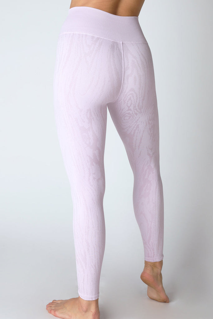 Willow Wood Grain Legging in Lavender Frost