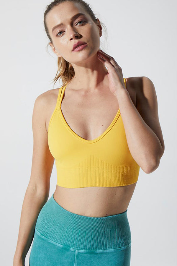 Fire Bra in Lemon Chrome