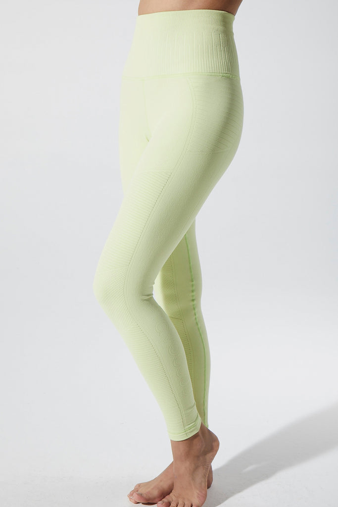 Phoenix Fire Legging in Luminary Green