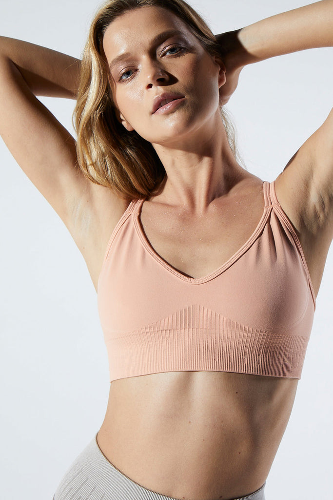 Fire Bra in Peachy Rose