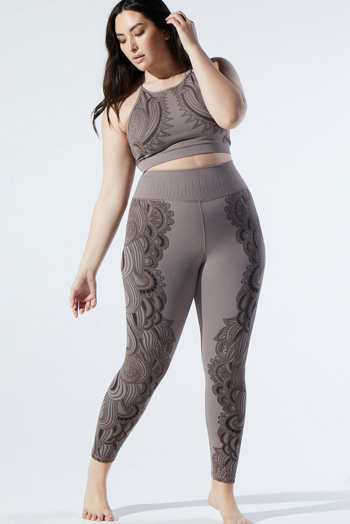Deja Vu Legging in Pewter