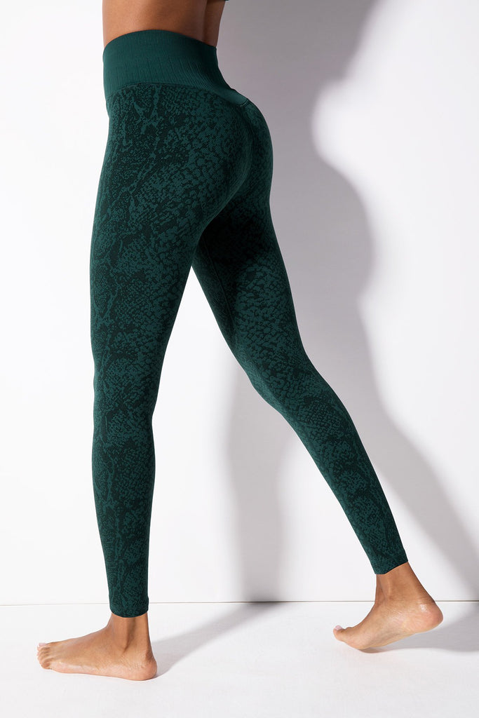 Polished Python Legging in Ponderosa Pine