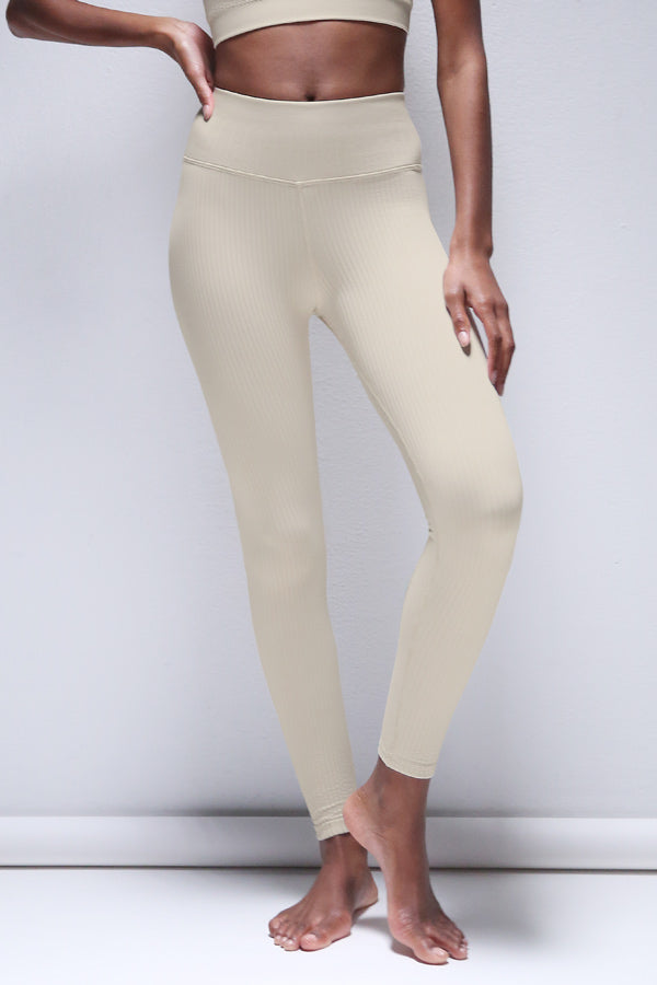 Riley Legging in Silver Lining