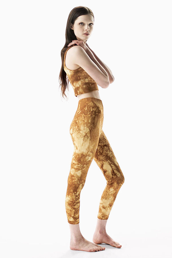 Rock Wash Mid Rise Universal 7/8 Legging in Mars Rock Wash