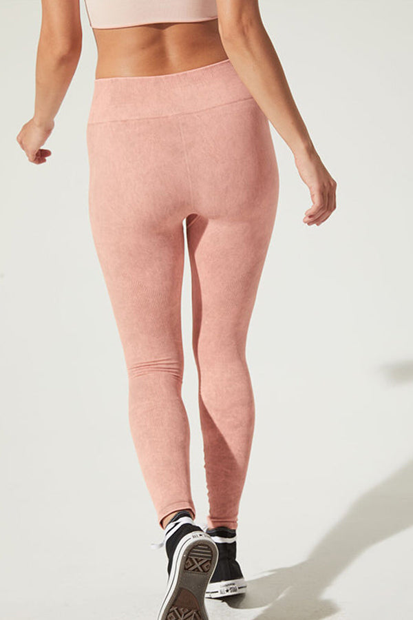 Earth Legging in Rose Quartz
