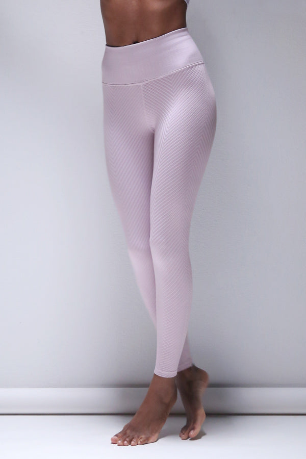 Shayna Chevron Legging in Iris