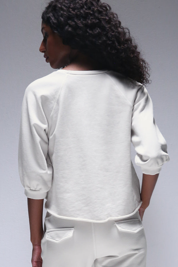 Sonya Sweatshirt in Chalk