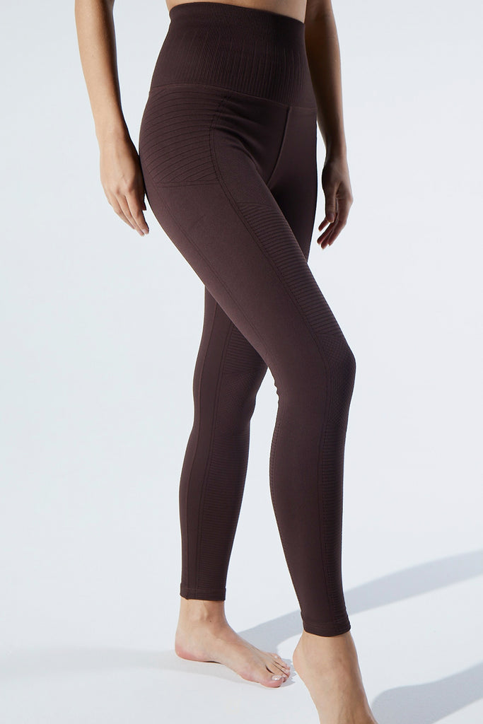 Phoenix Fire Legging in Truffle