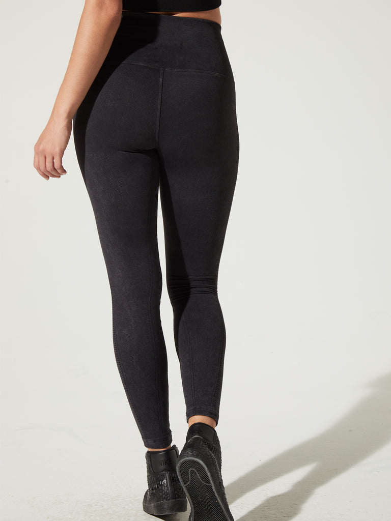 Air Legging in Black Vintage