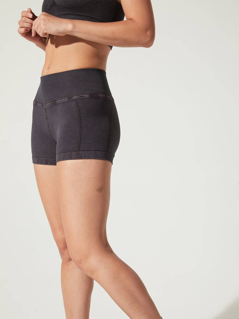 Air Shorts in Vintage Black