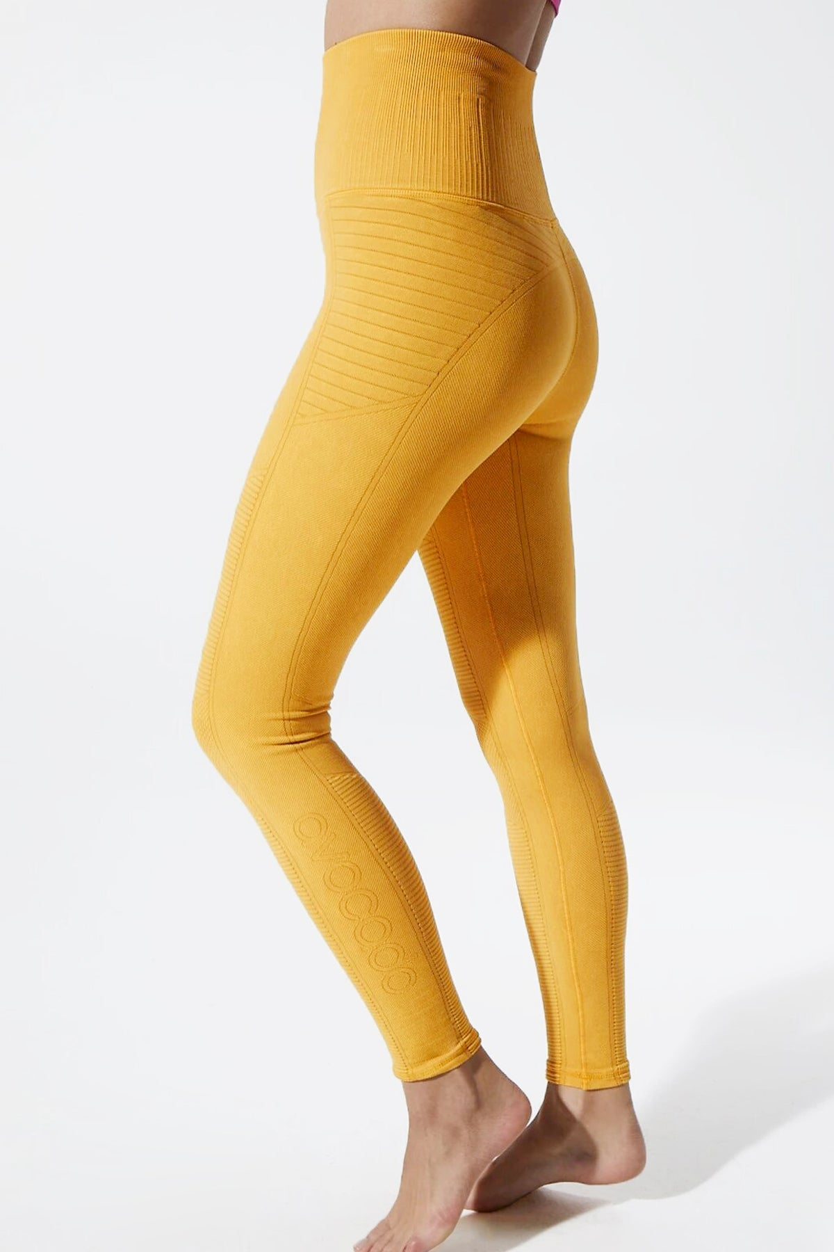 Vintage Phoenix Fire Legging in Vintage Lemon Chrome