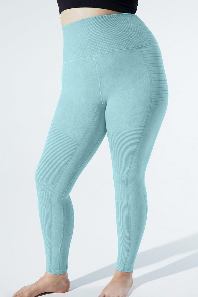Vintage Phoenix Fire Legging in Vintage Teal