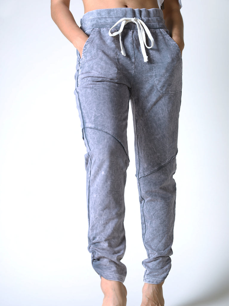 Suri Side Crunch Jogger in Vintage Granite