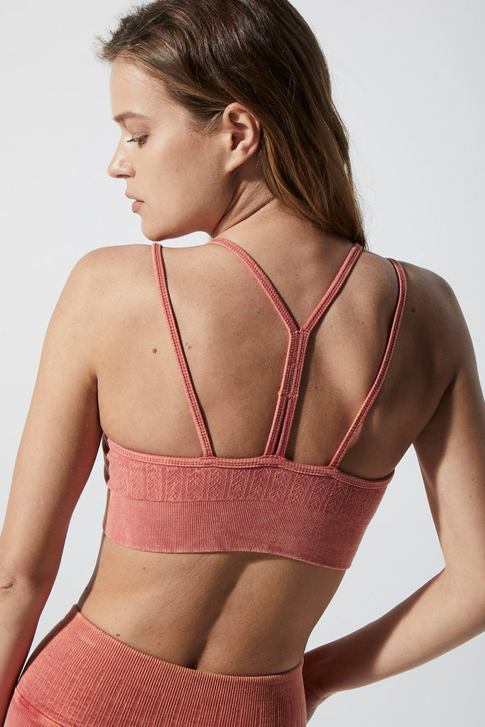 Gemma Fire Bra in Vintage Red Rock
