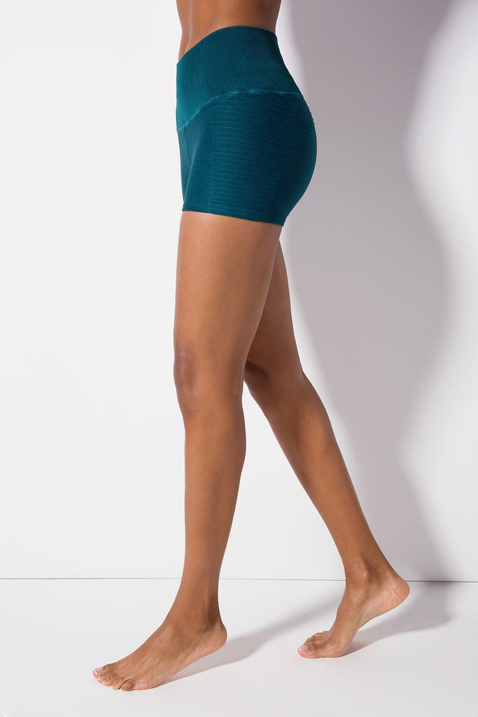 Dragon Fly Fire Short in Vintage Deep Teal