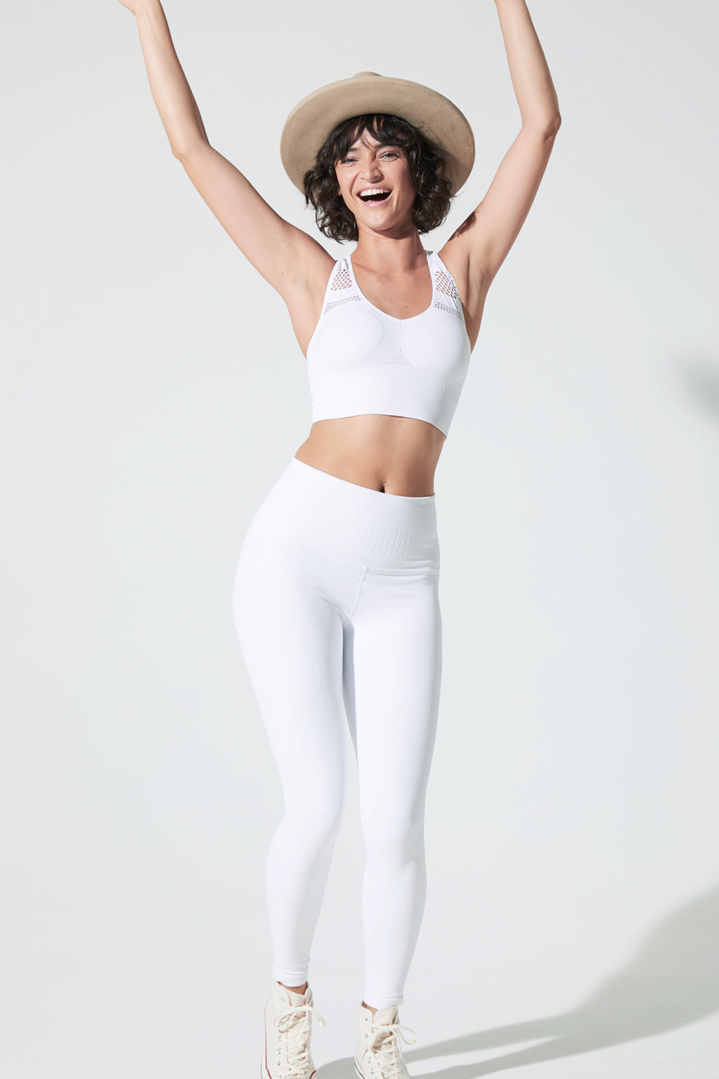 Universal Legging in White