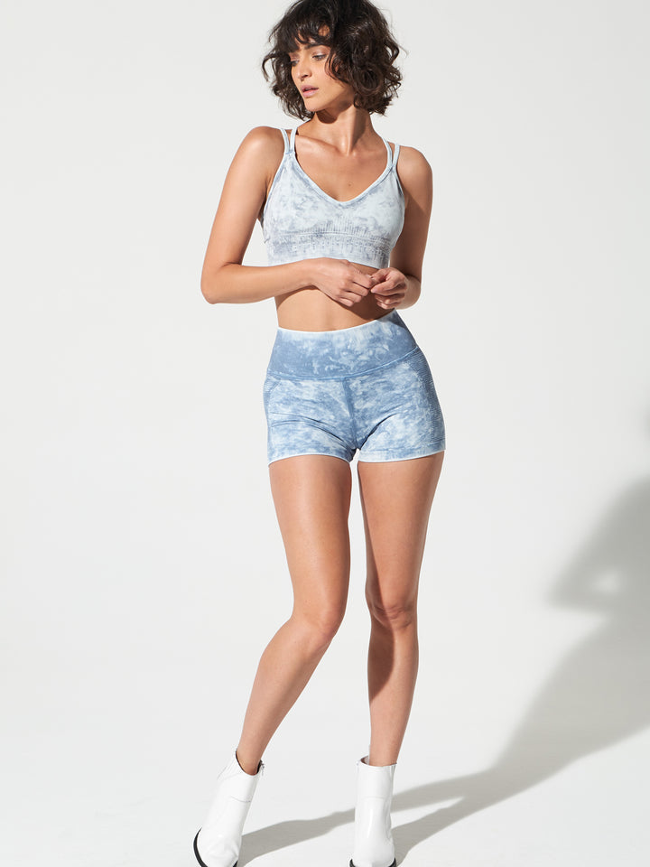 Air Shorts in Zen Blue Mist