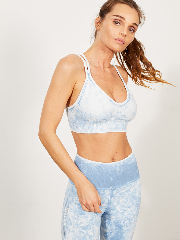 Fire Bra in Zen Blue Mist