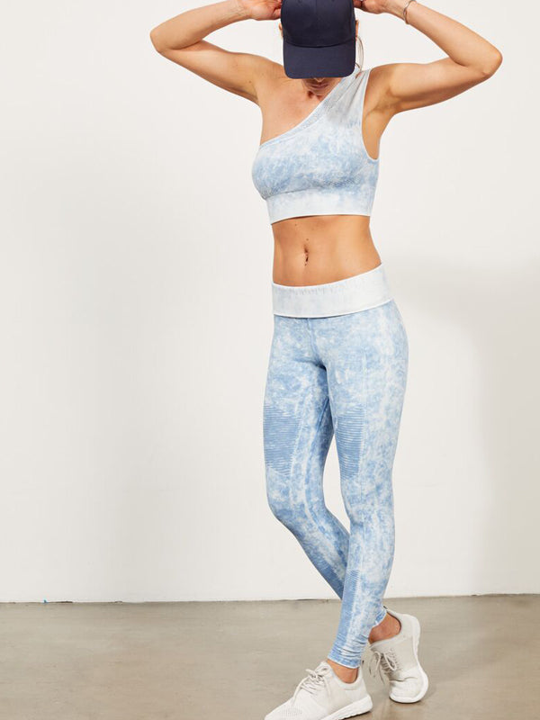 Phoenix Fire Legging in Zen Blue Mist