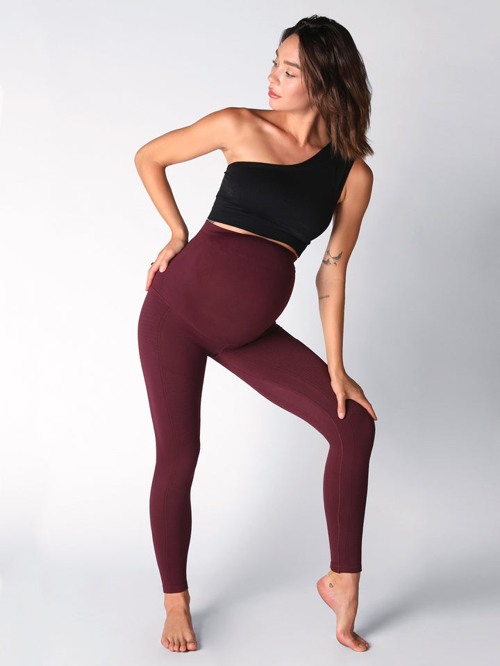AvoMom Phoenix Fire Legging in Acai