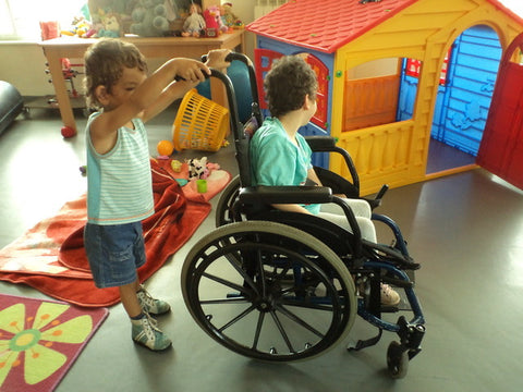 orphanage wheelchair