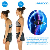 APTOCO Posture Reminder - Men and Women Posture Corrector Adjustable Simply Use Small&Light