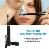 Sonic Electric Toothbrush IPX7 Waterproof Cordless Rechargeable