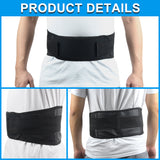 Adjustable Tourmaline Self Heating Magnetic Back Waist Support Belt SP