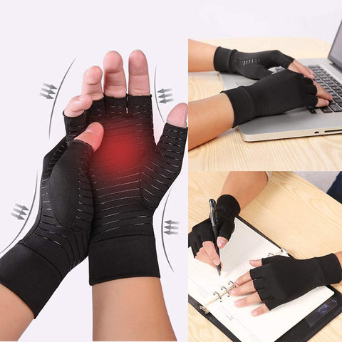 1 Pair Compression Arthritis Gloves Arthritic Joint Pain Relief Gloves SP